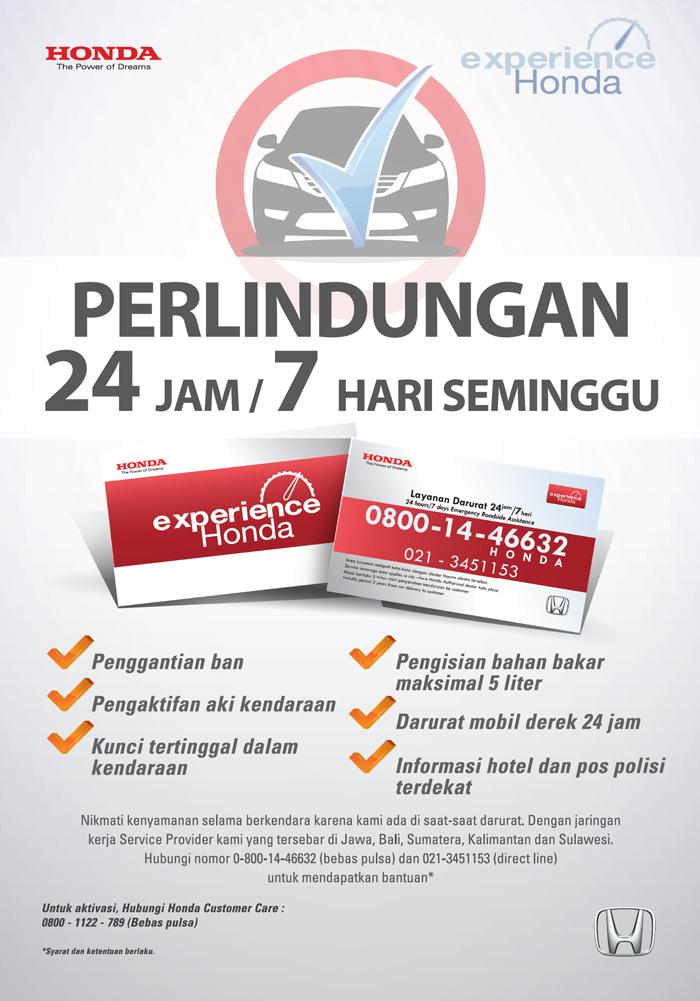 Experience Honda Card